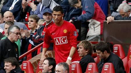 Cristiano Ronaldo  (Foto: PAUL THOMAS/AP)