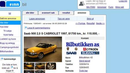 Saab-cab