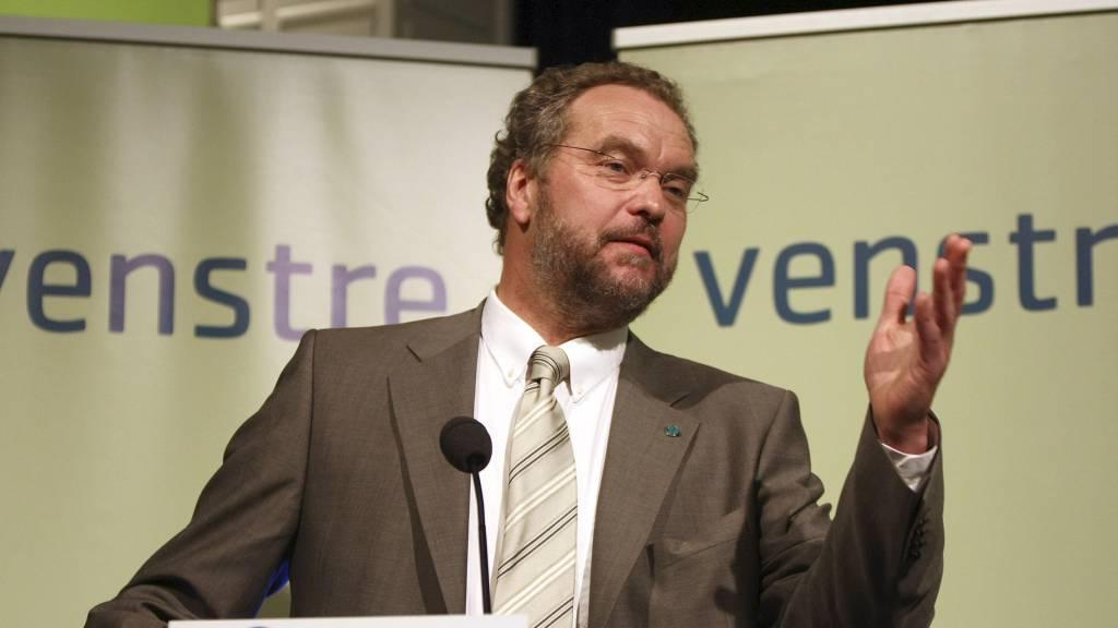 Venstre-leder Sponheim vil ikke tillate oljevirksomhet i Lofoten og Vesterålen.  (Foto: Hansen, Alf Ove/SCANPIX)