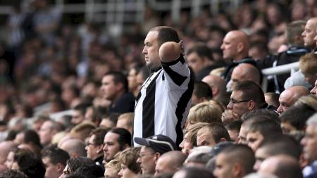 Newcastle-fans  (Foto: LINDSEY PARNABY/EPA)