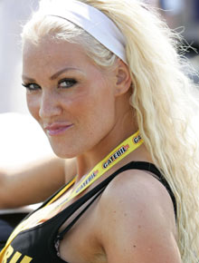 DEN GANG DA: Helene Rask fjernet nylig silikoninnleggene, og   satser nå på en ny og sporty profil.