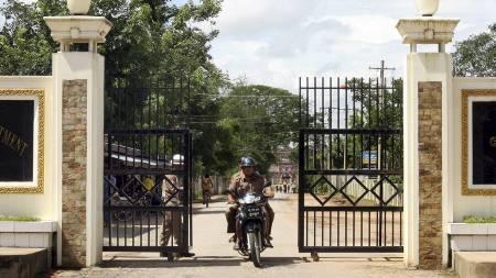 BERYKTET: Insein-fengselet er beryktet for sin røffe behandling av innsatte. Aung San Suu Kyi har også vært innsatt i dette fengselet tidligere.  (Foto: AFP/AFP)