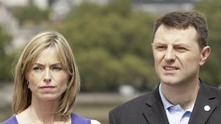 HÅPER: Kate og Gerry McCann håper at etterforskerne deres kan avhøre Raymond Hewlett og ta en DNA-test av ham.  (Foto: SHAUN CURRY/AFP)