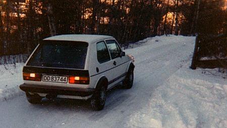 VW Golf GTI -83 (Foto: Benny Christensen)