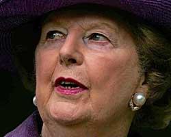 Margaret Thatcher godkjente operasjonen for å få dobbeltagenten til Vesten. (Foto: Cathal McNaughton)