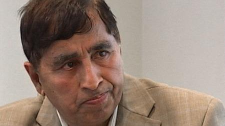 Fazal Hussain, leder av Pakistan Velferds Organisasjon. (Foto: TV 2)