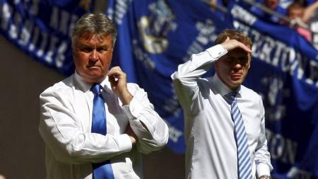 Guus Hiddink og David Moyes  (Foto: EDDIE KEOGH/REUTERS)