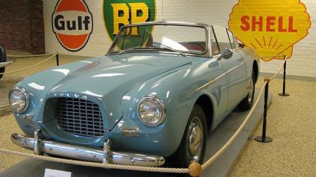 Dette er Volvo museets egen P1900.