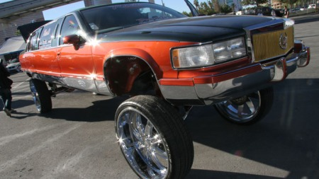 Cadillac Limousine hi-riser (Foto: SEMA Photos)