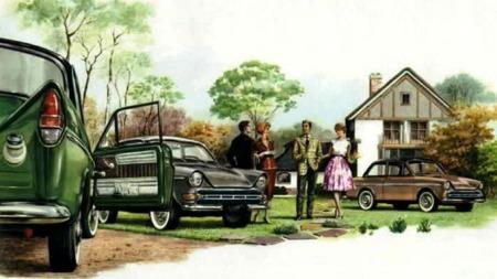 Daf begynte å lage biler i 1958 Den første hadde det kledelige navnet Daffodil...