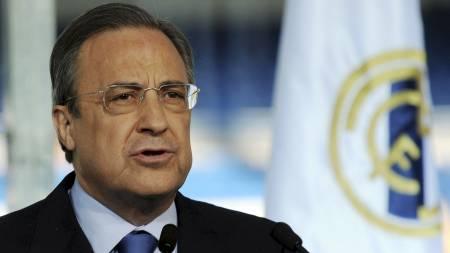 Florentino Perez  (Foto: JAVIER SORIANO/AFP)