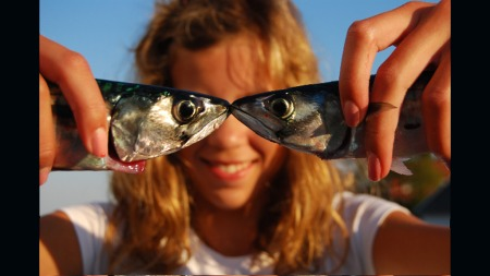 «Makrellfiske» av Gabrielle Lund vant fotokonkurransen i 2009