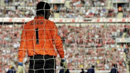 Petr Cech.  (Foto: ADRIAN DENNIS/AFP)