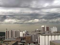 Bildet som kan være det første av en helt ny type skyer ble tatt i 2006. (Foto: Jane Wiggins / Scanpix )