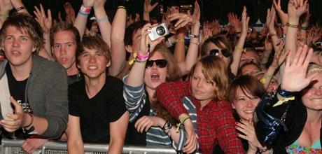 publikum franz ferdinand (Foto: Åshild Amland)