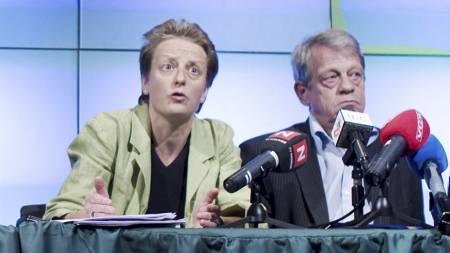 Karen Espelund og Sondre Kåfjord  (Foto: Lien, Kyrre/Scanpix)