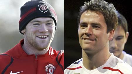 UNITEDS NYE SPISSDUO? Wayne Rooney og Michael Owen. (Foto: ANDREW   YATES/AFP)