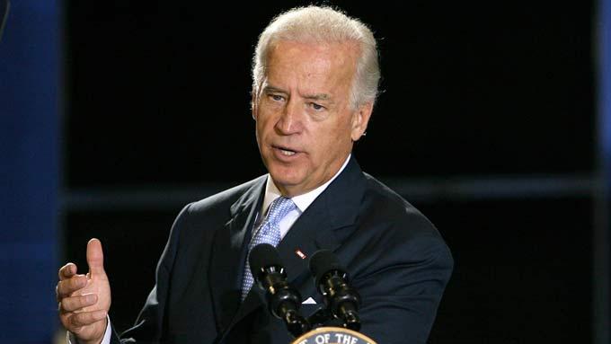 Joe Biden sier USA ikke vil diktere hva Israel skal gjøre i forhold til Iran.  (Foto: SCANPIX)