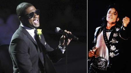 Usher beskriver opptredenen sin som det mest følelsesmessige opptredenen han noensinne har gjennomført.  (Foto: SCANPIX)