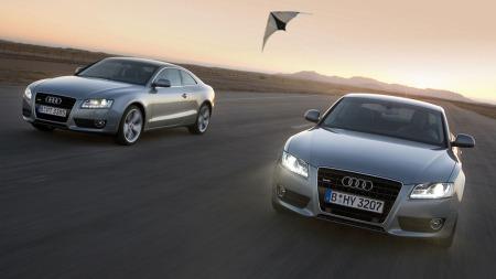 Audi A5 quattro, en av de nyeste Audi modellene.