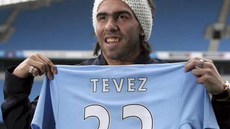CARLOS TEVEZ  (Foto: Lindsey Parnaby/EPA)