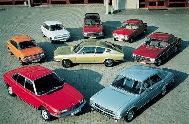 Dette er Audi og NSU sitt modellutvalg i 1971