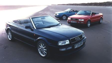 Audi 80, en praktisk og pen cabriolet. (Foto: Newspress)