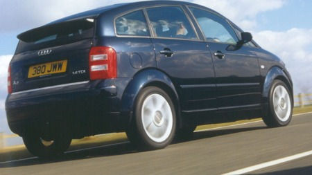 Audi A2 TDI 2001 modell (Foto: Newspress)