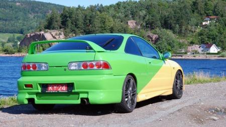 Honda Integra Type-R. Barsk bakfra også. (Foto: Sigmund Bade)