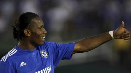 Didier Drogba  (Foto: STEPHEN DUNN/AFP)