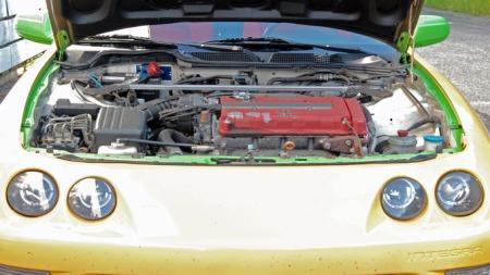 1,8-liter VTEC. Et smykke av en motor ! (Foto: Sigmund Bade)
