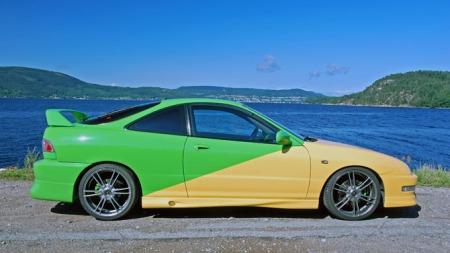 Honda Integra Type-R, 1999 (Foto: Sigmund Bade)