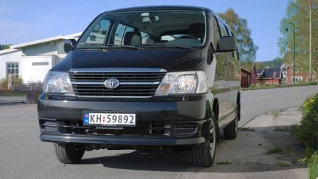 Den norske importøren vil selge så mange de klarer i år - men så er det slutt for Toyota Hiace. Foto: Benny Christensen