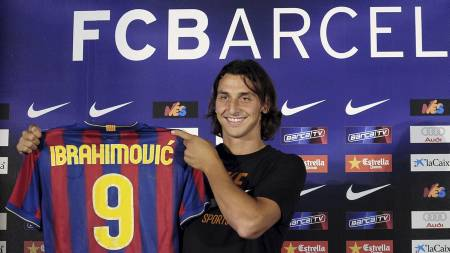 Ibrahimovic  (Foto: MANU FERNANDEZ/AP)