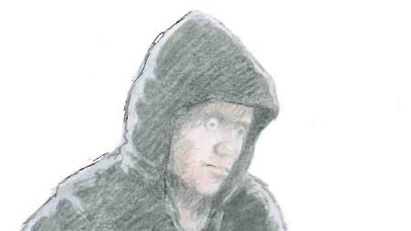 Politiet i Kongsvinger er svært interessert i å komme i kontakt med denne personen og har fått laget en tegning av vedkommende på bakgrunn av vitneopplysninger. (Foto: POLITIET)