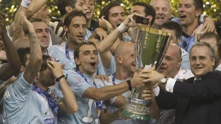 Lazio  (Foto: DIEGO AZUBEL/EPA)