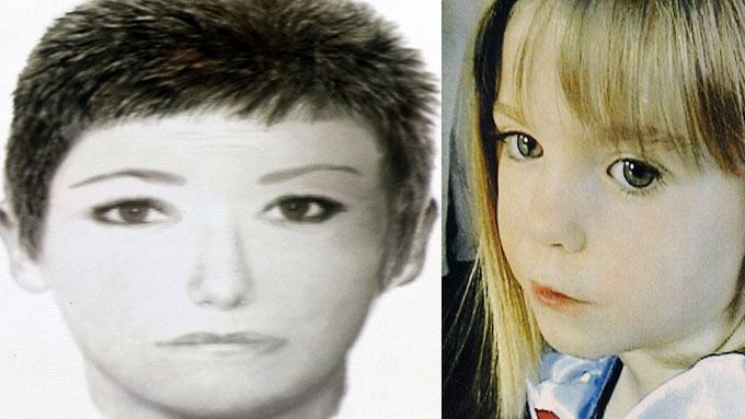 ETTERLYSES: Private etterforskere i Madeleine McCain-saken etterlyser en kvinne i jakten på den forsvunnede jenta.  (Foto: SCANPIX)