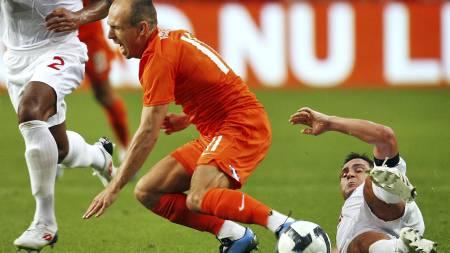 Arjen Robben   (Foto: Koen van Weel/EPA)