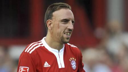 Franck Ribery (Foto: OLIVER LANG/AFP)