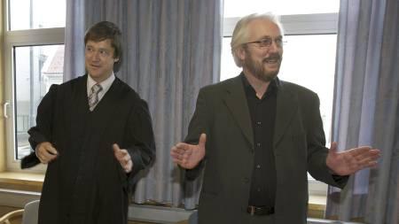 John Christian Elden og Einar Baardsen  (Foto: Hansen, Alf Ove/SCANPIX)