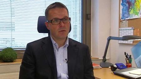 OPPREISNING: Thomas Laurendz Bornø, avdelingsdirektør ved Statens sivilrettsforvaltning, mottar saker og fatter vedtak når det fremmes krav om erstatning eller oppreisning, eller begge deler. (Foto: TV 2)