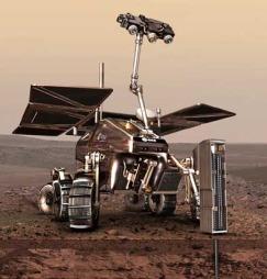 Roveren til den europeiske sonden ExoMars.  (Foto: Illustrasjon ESA)