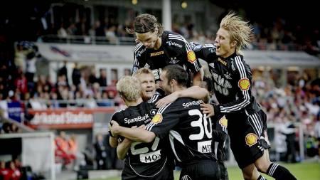 Rosenborg har et solid overtakt på Strømsgodset. (Foto: Olsen, Linn Cathrin/SCANPIX)