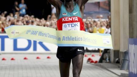Abel Kirui  (Foto: FABRIZIO BENSCH/REUTERS / SCANPIX)