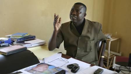 Aktor i Kongo-saken, Blaise Buamulundu, har lagt ned påstand om dødstraff for de to drapstiltalte nordmennene i Kongo.  (Foto: Vatn, Vegar/SCANPIX)