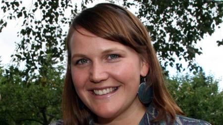 Mette Skjeldam er klar for speedate i Jakten på kjærligheten. (Foto: Beate Sneve Larsen)