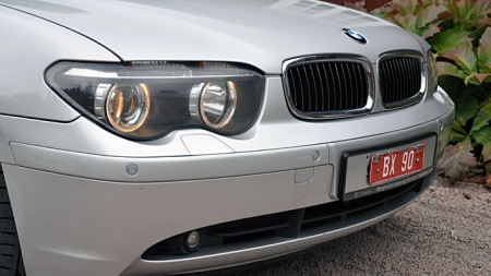Typisk BMW front. (Foto: Gunnar Omsted)