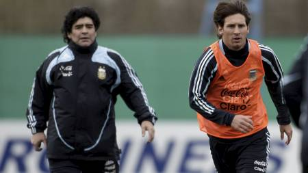 Messi  (Foto: Natacha Pisarenko/AP)
