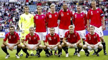 SAMME LAG? Norge kan stille med samme lag som mot Skottland mot Island.  (Foto: Solum, Stian Lysberg/SCANPIX)