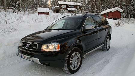 Hold   deg på veien med Volvo XC90, det er ingen